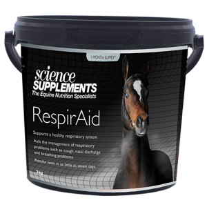 RespirAid - Horse Respiratory Supplement - Supports a healthy respiratory system