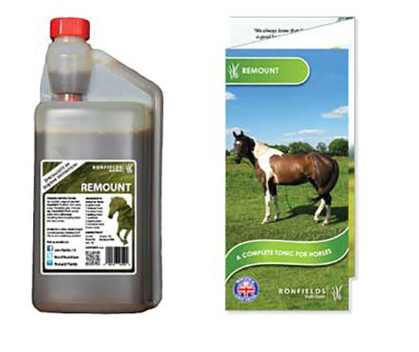 Remount is a general tonic that helps horses to maintain health and vitality for longer.