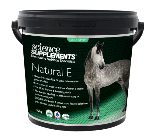 Natural E 1.32kg - Horse Natural Vitamin E