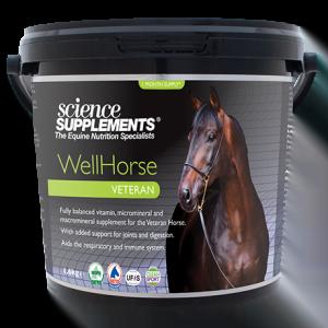 WellHorse Veteran 1.6kg - Horse Feed Balancer